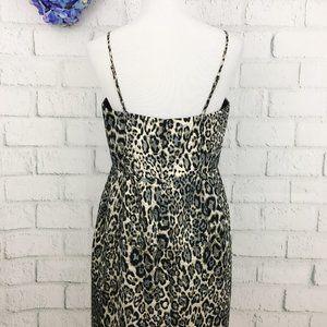 J. Crew Dresses - J. Crew Metallic Leopard Spot Party Dress